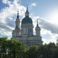 Вид на Екатерининский собор :: Елена Павлова (Смолова)