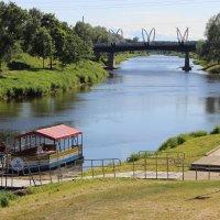 Река Гауя в Валмиере :: Mariya laimite