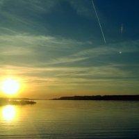 Закат. Можайское водохранилище :: Екатерррина Полунина