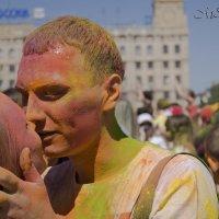 Фестиваль красок Холи в Волгограде :: Mishanya Moskovkin