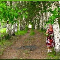 Солнышко, сегодня - для двоих,  счастье, радость яркий луч принес. :: Людмила Богданова (Скачко)