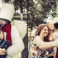 Селфи с пушистым ангелом :: Алексадр Мякшин