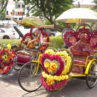 Рикша,Куала-Лумпур Малайзия :: Евгений Подложнюк