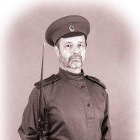 Рядовой русской императорской армии (1914 г.) :: Олег Кошкаров