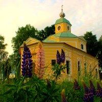 церковь Всех святых ( Полковая) :: Сергей Кочнев