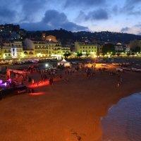 Вечер на пляже :: Ольга