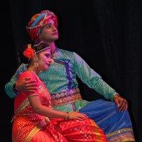 Индийский фестиваль. Сцена из спектакля 1 :: Александр Мельник