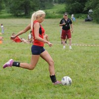 Спортсменка.Футболистка.Красавица. :: Андрей Куприянов