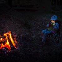 Вечерние посиделки у костра :: Павел Федоров