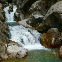 Водопады каньона Сападере. :: Чария Зоя