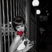 Наедине с цветком :: Денис Красненко