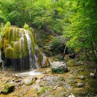 водопад Серебряные струи :: Андрей Козлов
