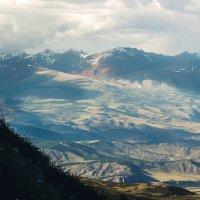 Вид с северо-восточного склона перевала «Учитель» (высота съёмки около 3к) :: Денис Соломахин