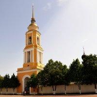 Колокольня Свято-Троицкого Ново-Голутвина монастыря. Коломна :: Владимир Болдырев
