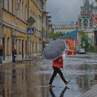 А просто летний дождь прошёл,нормальный летний дождь... :: марк