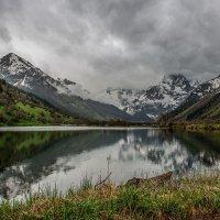 В Тебердинском заповеднике дождь... :: anatoly Gaponenko
