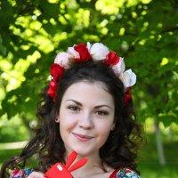 Девушка-цветок. :: Снежанна Родионова
