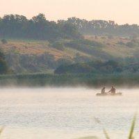 Рассвет на рыбалке... :: Aleksandr Geraimovich