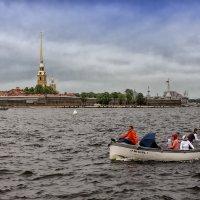 На лодке. :: Валентин Яруллин