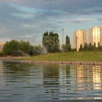 Закат в парке :: Марина Бухарина