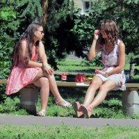 Есть, что рассказать друг другу! :: раиса Орловская