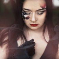 Черная шахматная королева... :: Мария Дергунова