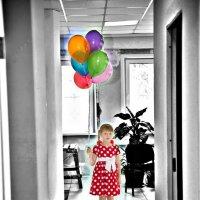 Однажды одна маленькая девочка... :: Марк