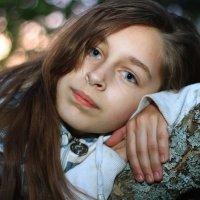 Портрет на дереве :: виктория Скрыльникова