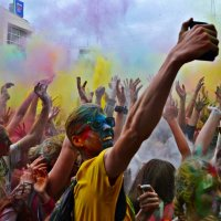 Фестиваль красок Холи :: Юлия Семенова