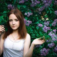 Весна и Девушка. :: Никита Кузнецов