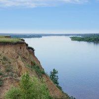 Обь-река. На высоком берегу :: Виктор Четошников