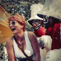 Два Клоуна и Девушка :: Алексадр Мякшин