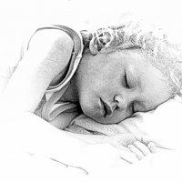 My angel, sleep ... shhh :: A. SMIRNOV