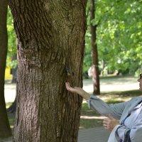 В парке :: Олег Баламатюк