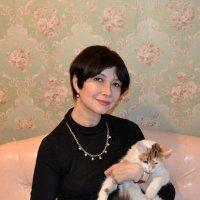 С котиком :: ЕЛЕНА СОКОЛЬНИКОВА
