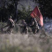 Реконструкция майских боев 1945 года :: Фотостудия Объективность