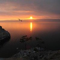 закат у скалы Шаманка.. :: Марина Брюховецкая