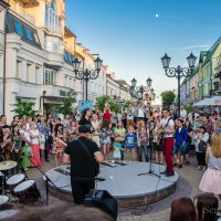 День молодёжи в Бресте :: Сергей и Ирина Хомич