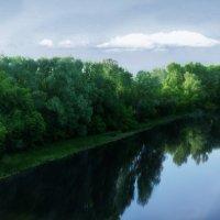 Река Псёл, города Гадяч, Украина :: Дарина Колода