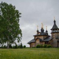 Церковь Всех Святых, в земле Сибирской просиявших (недалеко от Меркушино) :: Алексей Обухов