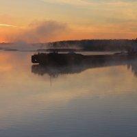 Туманный рассвет на Шексне... :: mv12345 элиан