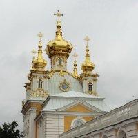 Церковный корпус  Большого Петергофского дворца :: Peripatetik