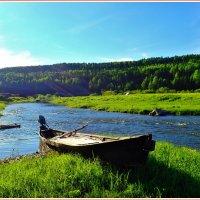 Там,где тихо плещет речка.... :: Геннадий Ячменев