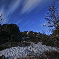 Серебрняский камень ночью :: Александр Лешков
