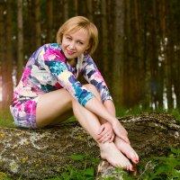 сижу одна в лесной тиши :: Наташа Гуринович