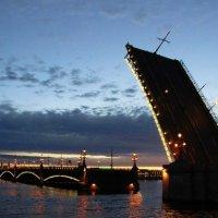 Троицкий мост :: Елизавета Королева
