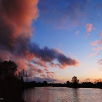 Акварель заката. :: Антонина Гугаева