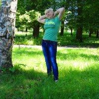 Я в парке :: Антонина Гугаева