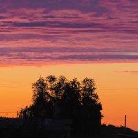 Закат в Северной деревушке-2 :: Юлия Лохова