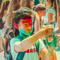 Фест красок в Анапе :: Юлия Михайлова
